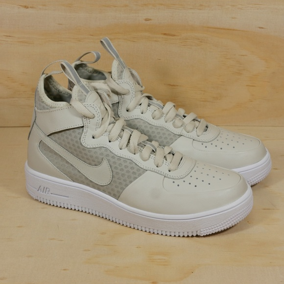 NEW Nike Air Force 1 Ultraforce Mid Light Bone